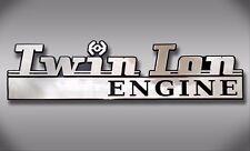 TIE Fighter Star Wars Car Emblem - Chrome Plastic Not a Decal / Sticker