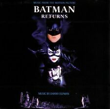 Batman Returns - Original Motion Picture Soundtrack - U.K. CD album 1992