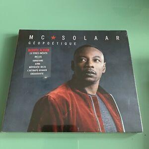Album CD Mc Solaar Géopoétique - NEUF Blister