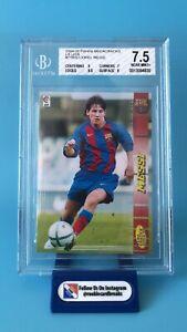 2004-05 Panini Megacracks Lionel Messi Rookie #71 BIS BGS 7.5