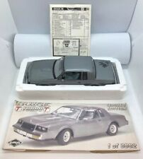 GMP 8006 1987 Buick Turbo T Gray Model Car Signed by Rollin Molly Sanders MINT