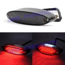 UNIVERSAL MOTORCYCLE 28 LED REAR BRAKE STOP TAIL LIGHT LICENSE NUMBER PLATE LAMP