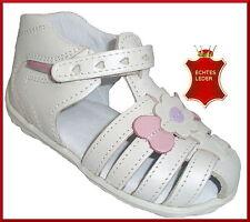 Baby-Sandalen aus Leder mit Klettverschluss