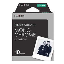 Fujifilm Instax Square Monochrome Sofortbildkamera Film schwarz weiß 10 Stück