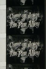COME ON DOWN TO TIN PAN ALLEY TRAILER 16MM FILM MOVIE ROLLED  NO REEL F38