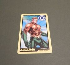 Dc Super Heroes Arcade Coin Pusher Card Hero 005 Aquaman Series 2 Rare
