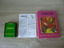Circus (complete) - Atari 2600
