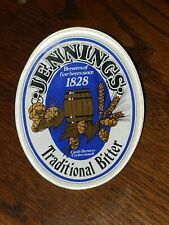 JENNINGS TRADITIONAL BITTER CASTLE BREWERY COCKERMOUTH 1828 BADGE TAP BEER