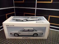 AUTOart BMW 3.0 CSI  E9 1:18 White