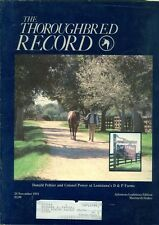 1984 Thoroughbred Record Magazine: Donald Peltier & Colonel Power/Matriarch