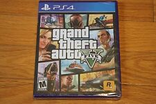 Brand New Sealed PS4 Grand Theft Auto 5 V SHIP FREE US FAST