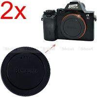 2x Body Cover Cap for Sony E-mount Micro SLR Camera a7II a7 a6000 a5100 a5000