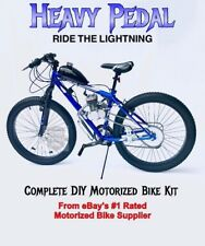 **Heavy Pedal**  Motorized 66cc Engine & FAT TIRE Bicycle - Motor Bike Kit - DIY