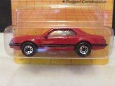 1990 Matchbox T-Bird Turbo Coupe 59 Red Die-Cast Metal RL#89
