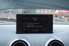 2013 AUDI A3 8V MULTIMEDIA NAVIGATION POP-UP LCD DISPLAY SCREEN - 8V0857273H