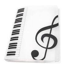 Professional Music Folder Choral Choir Music Folder Music Sheet Folder White