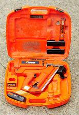 Paslode IM350/90 sans fil Nail Gun, 1st Fix, entièrement équipés, piles neuves!