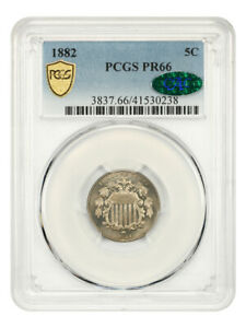 1882 5c PCGS/CAC PR 66 - Shield Nickel - Beautiful Gem Proof