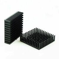 2 x Black Aluminum Radiator Heat Sink Heat Sink 40 x 40 mm x 11 mm C8X1 P6E5