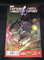 Captain America and the Mighty Avengers  # 5 VF Marvel Comics 2015