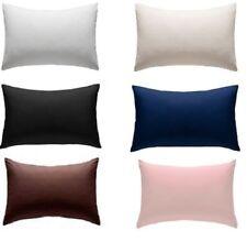 Luxury Pillowcase Stripe Pair Soft Extra Large Fit Pillow Box White 22 X 31 Size