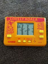 Vintage Handheld LCD Game CASIO-CG-95 - Lovely Koala - 1986 Japan Excellent
