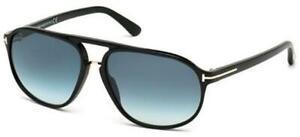 Tom Ford JACOB FT 0447 Black/Green Blue 60/15/140 Herren Sonnenbrillen