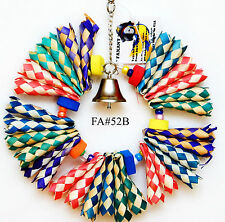 Shreddable Bird Parrot Toy Bamboo to Chew Size Medium for Lorie Conure Amazon