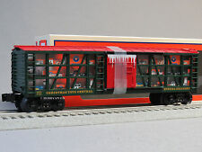 LIONEL CHRISTMAS TOYS STOCK CAR O GAUGE boxcar train holiday present 6-83315 NEW