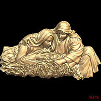 (176) 3d STL Model Religion Icon for CNC Router 3D Printer  Aspire Cut3d Artcam