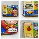 Vintage Hornby Noddy In Toyland Play-Set 1 Playmat Track Car 3 Figures Activity