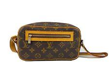 Authentic Louis Vuitton Pochette Cite Pm Shoulder Bag Monogram Used