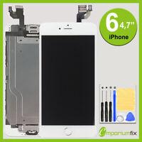 Display für iPhone 6 RETINA LCD HD Glas VORMONTIERT Komplett Front WEISS WHITE