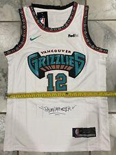 New S Ja Morant 12 Memphis Grizzlies White Throwback Basketball Jersey Retro US
