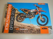KTM POWERPARTS OFFROAD 2017 SALES BROCHURE NEW, OLD STOCK