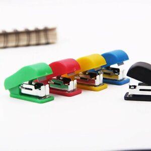Plastic Mini Stapler Portable For Home Office School Use Stationary Tool