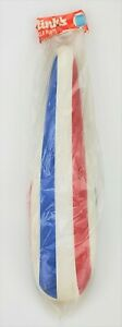 NOS Vintage Bicycle Banana Seat Bike Muscle Italy Red White Blue Rinks 914