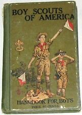 Vintage 1926 Handbook for BOY SCOUT SCOUTS OF AMERICA BOOK