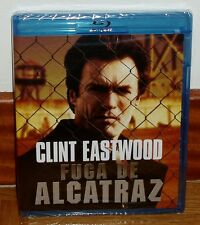 ESCAPE FROM ALCATRAZ BLU-RAY NEW SEALED ACTION THRILLER DRAMA (UNOPENED) R2
