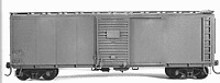 Tichy Train Group Six Pack 40' Rebuilt USRA Boxcars Kit HO