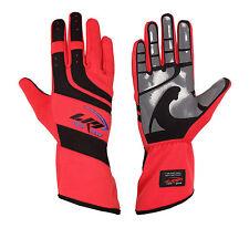 LRP Kart Racing Gloves- Speed Gloves Black/Red