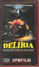 DELIRIA  di Michele Soavi horror VHS prima edizione 1988 aquarius stage fright