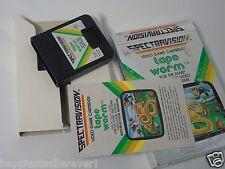 Atari 2600 Tape Worm Complete ATARI 2600 Video Game System #34DE