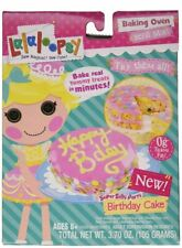 Lalaloopsy Baking Oven Mix Confetti Cake with Hot Pink Frosting Easy Bake 1 Pack