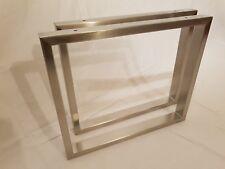 Tischkufen Tischbeine Edelstahl Stahl Tischkufen nach Wunschmaß möglich