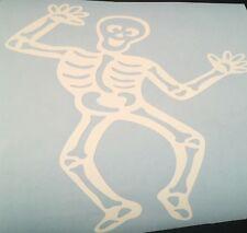 Halloween Gothic Skeleton Vinyl Sticker Decal / Transfers Handmade UK Spooky