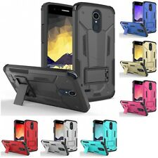 For LG Stylo 3 ZIZO Hybrid Future Armor Hard Case Cover Phone With Kickstand