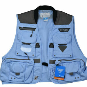 New Columbia Henry 's Fork V Fishing Vest Men's Small