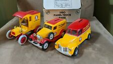 ERTL Arm & Hammer Truck Bank LOT 1905 1932 1950 Truck Lot - NICE
