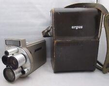 Argus M-3 Cinetronic Movie Camera w/ Case & Accessories WORKS GOOD